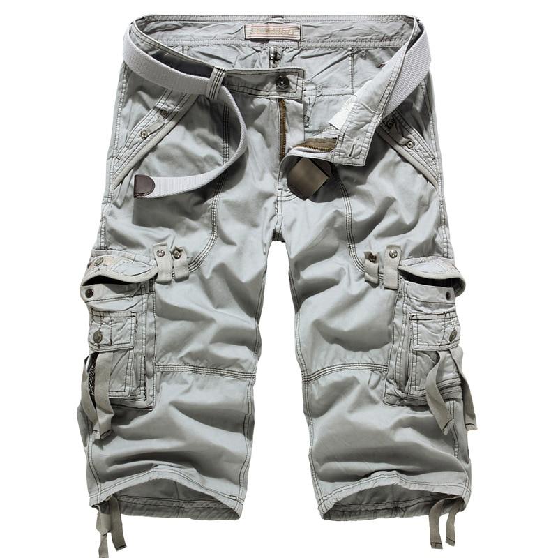Supply Of Goods 2019 New Style Men Workwear Cropped Shorts Fashion Man Multi-pockets Shorts 5820