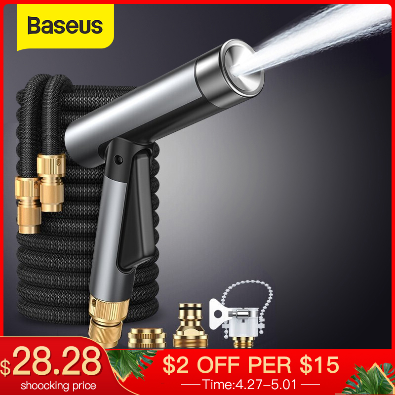 Baseus Car Washer Gun High Pressure Hose Cleaner Cars Foam Wash Spray Guns For Auto Garden Shower Cleaning Washing Tools