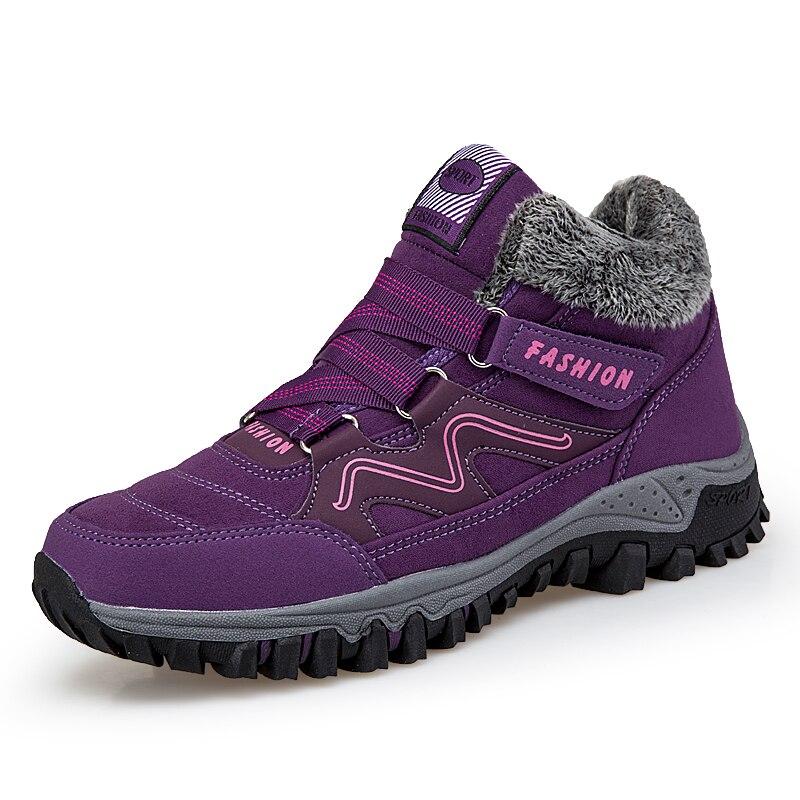 2019 Winter Turnschuhe für Männer Outdoor Sport Wandern Schuhe Warme Wandern Wasserdicht Wildleder Stiefel Klettern Schuhe Unisex Jagd Stiefel