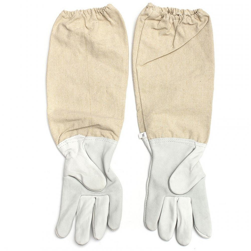 Combinaison professionnelle ventilée abeille | Pour la conservation des abeilles, avec gants en cuir, couleur café, 2020
