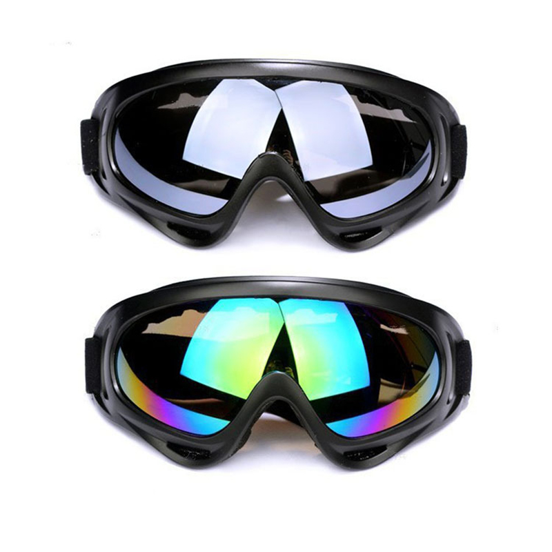 1pcs Winter Windproof Skiing Glasses Goggles Outdoor Sports Glasses Ski Goggles Dustproof Moto Cycling Sunglasses