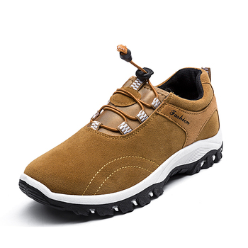 2020 New Men Shoes Outdoor Casual Climbing Hiking Shoes Mens High Quality Wearable Hunting Boots Waterproof Anti-skid Sneaker xiang guan outdoor shoes men quality waterproof hiking shoes anti skid wear resistant breathable trekking boots us size 6 12