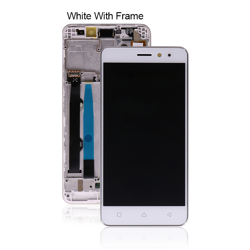 "Image 2 - 5"" For Lenovo K6 Power LCD Display Touch Screen Digitizer Assembly With Frame K33a42 k33a48 For Lenovo K6 Screen Free ShippingMobile Phone LCD Screens   -"
