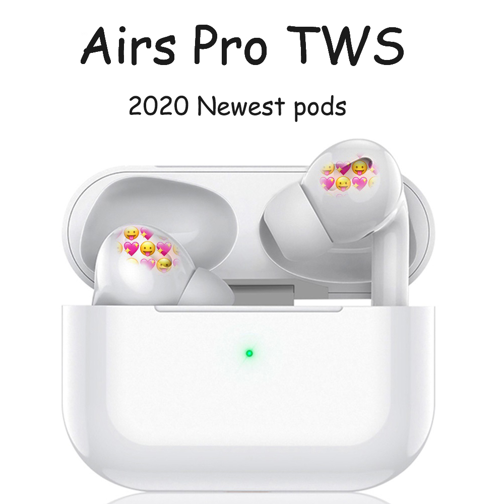Newest TWS Bluetooth Earphones  Wireless Headphones 1:1 Super Copy Air3  Earbuds With Case For IPhone Pod Pro 3 I20000 I9000