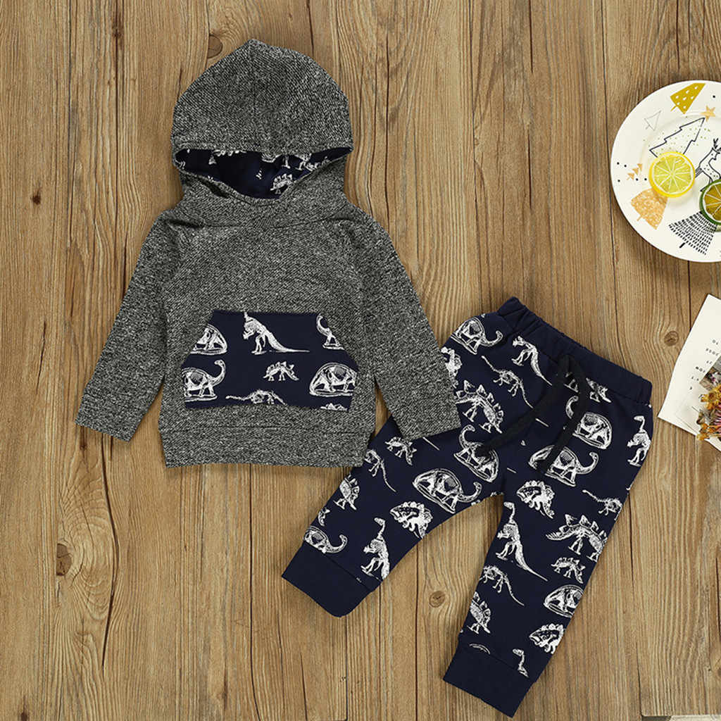 Toddler Baby Girls Winter Outfits Clothes Hoodie Tops+Pants+Headband 3PCS Set CO