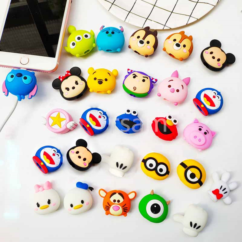 Cute Cable Protector Data Cable Wire Protector Cover Cable Cover For Charging Cable Protector
