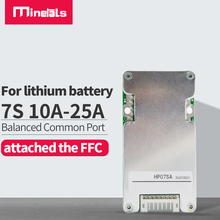 7s BMS PCM with balance 10a 15a 20a 25a 18650 li-ion lithium battery BMS Charge and discharge protection Common port BMS