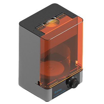 Impresora UV de resina DLP/LCD/SLA 3D que gira y sincroniza la máquina de curado 400-405Nm UV longitud de onda que cura la caja de la lámpara US Plug