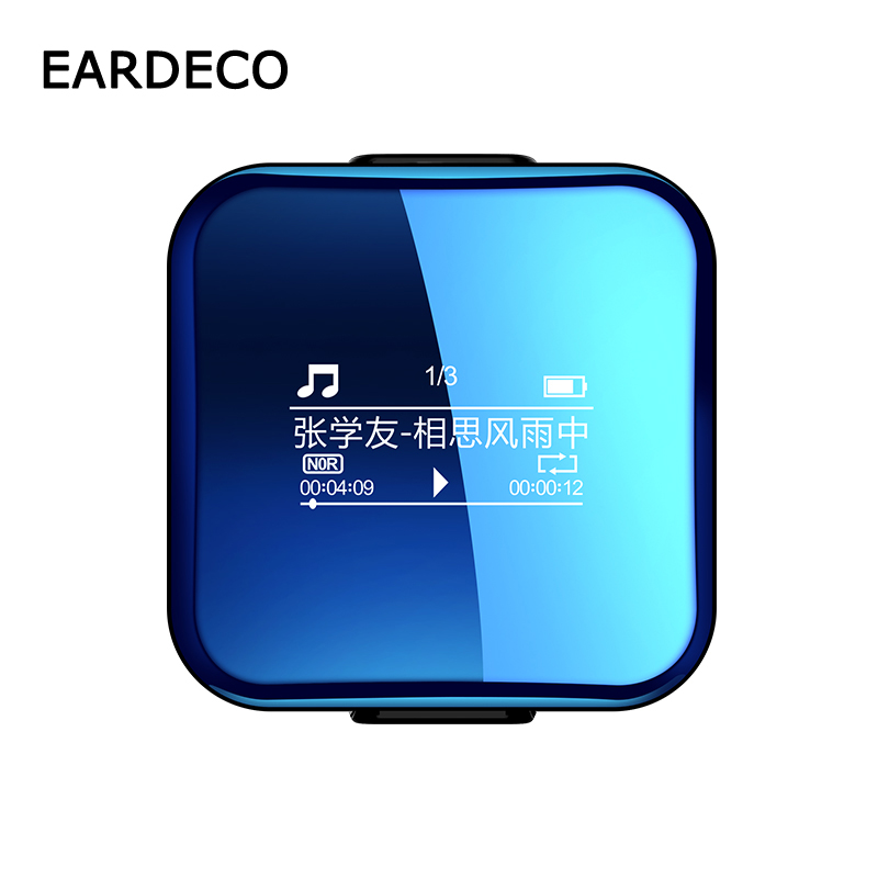 EARDECO Mini Lossless Sound MP3 Player Bluetooth Music Players Hifi Walkman Hi Fi Mp 3 Hi Res Flac Player Digital Voice Recorder