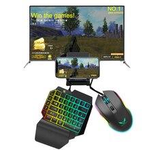 Manette de jeu PUBG 3 en 1 pour téléphone IOS et Android, convertisseur de clavier et de souris