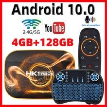 2020 Android 10 TV kutusu Hk1 Max 4GB 128GB TV kutusu akıllı TV kutusu Rockchip RK3318 4K 60fps USB3.0 Google play store Youtube Set üstü kutusu