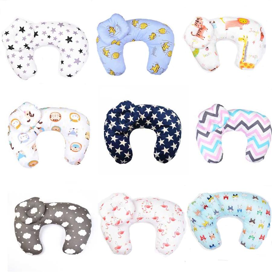 Baby Nursing Pillows Maternity Baby Breastfeeding Pillow Infant U-Shaped Newbron Cotton Feeding Waist Cushion Baby Bed