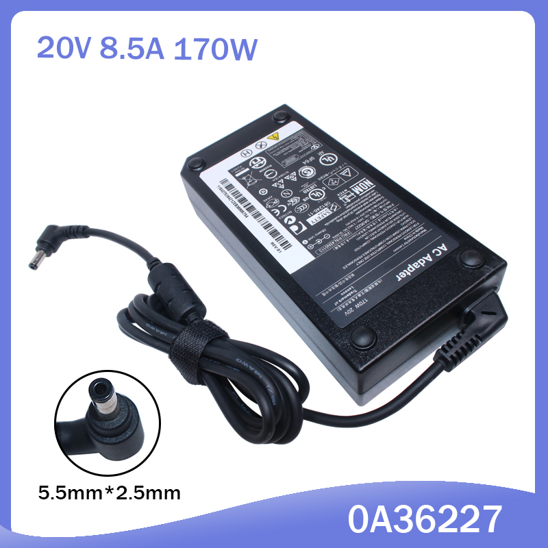 20V 8.5A 170W Laptop Ac Adapter Charger For Lenovo IdeaPad Y410P Y500 Y500N Y510P Y560 0A36227 45N0113
