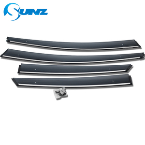 Image 2 - Window Air Vent Visor For Toyota Prius 2016 2017 2018 Window Visor Vent Shade Sun Rain Deflector Guards SUNZ
