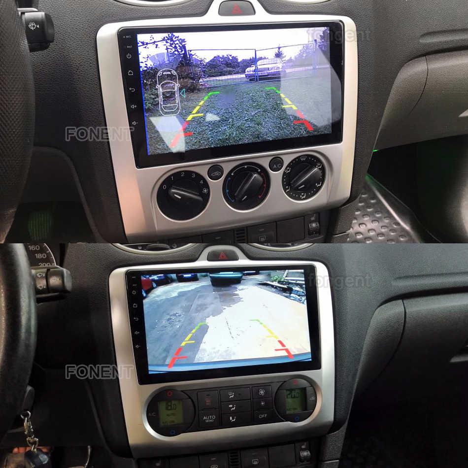 Dla Ford Focus 2 Mk 2 2004-2011 Radio samochodowe multimedialny odtwarzacz wideo nawigacja gps Android 9.0 nie 2din 2 din dvd Stereo Audio PC