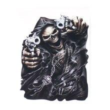 Автомобильная наклейка grim reaper assочень с черепом внешние