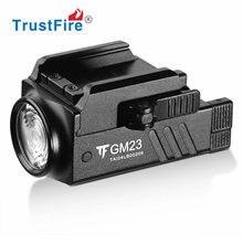 Trustfire gm23 пистолет светильник 800 люмен glock тактическое