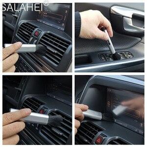 Image 5 - 1PC ABS samochód wnętrze chowany szczotka do czyszczenia miękka wełna szczotka do kurzu akcesoria dla Renault Megane 2 3 Duster Logan Clio Laguna