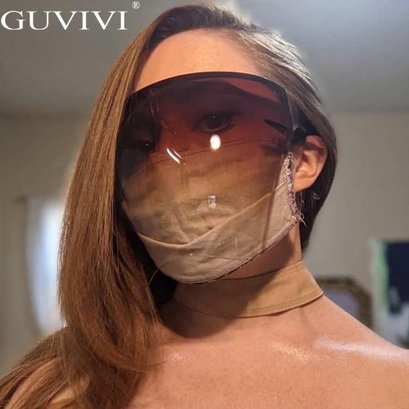 Men's Women's Faceshield Protective Glasses Goggles Safety Glasses Anti-Spray Mask Protective Goggle Glass Sunglasses 5