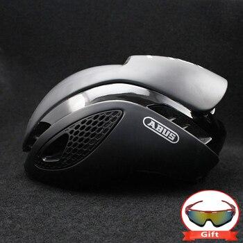 300g Aero TT Bike Helmet Road bike Cycling Bicycle Sports Safety Helmet Riding Mens Racing In-Mold Time-Trial Helmet 11