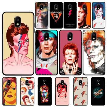 FHNBLJ David Bowie Custom Soft Phone Case For Samsung Galaxy J7 J6 J6PLUS J8 J4 J4Plus J7DUO J7NEO J2 J5 J6 J7 Prime image
