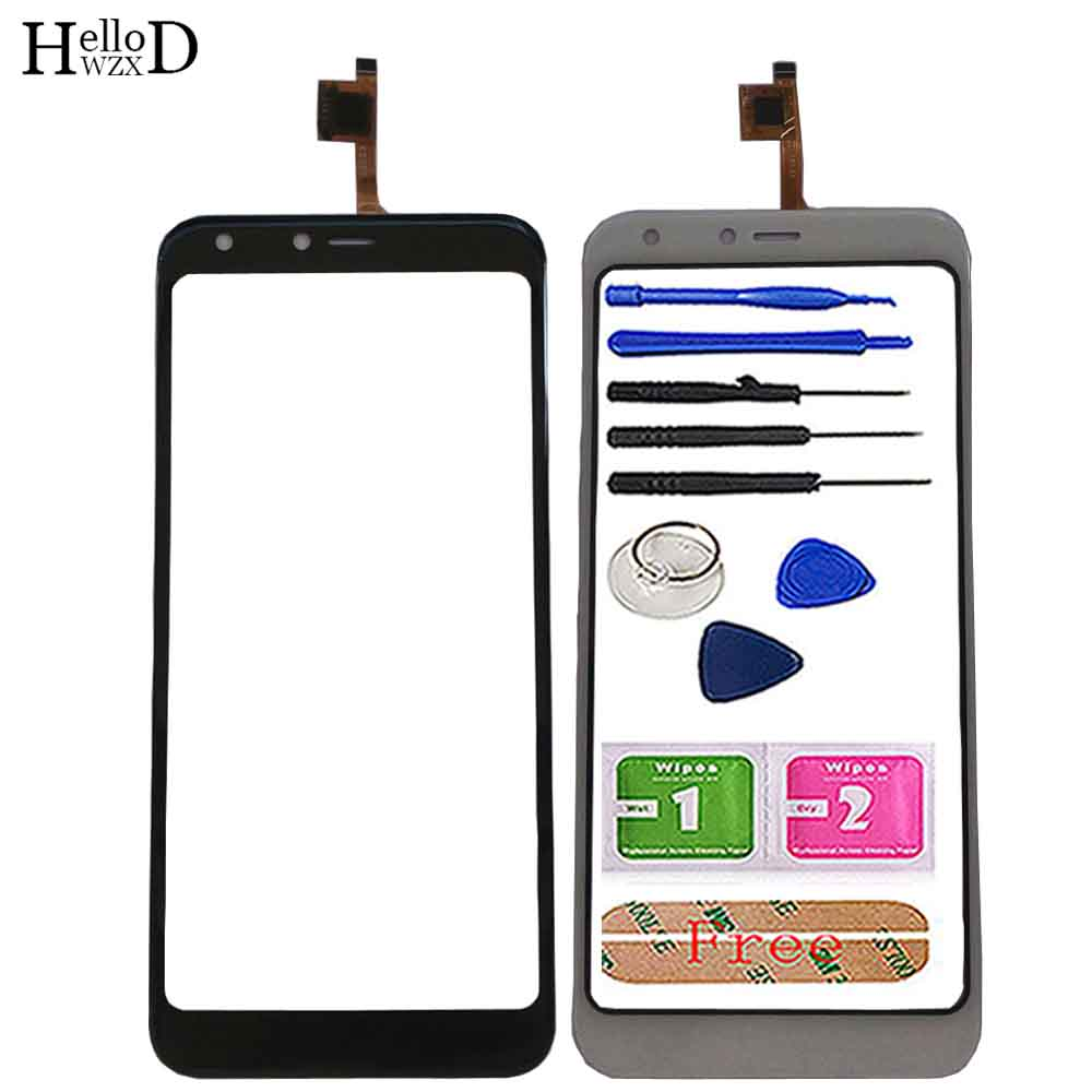 Touch Screen For Doogee X53 Touch Panel Touchscreen Touch Screen Digitizer Panel Front Glass Sensor Tools Adhesive