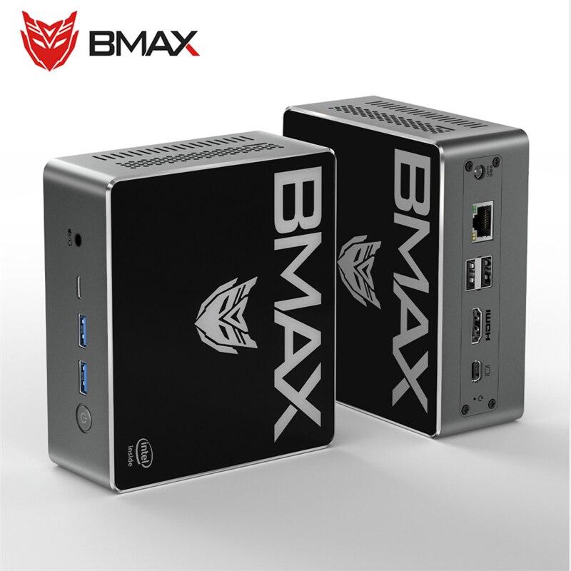 BMAX B4 Pro Mini PC Intel Core I3-8145U 8GB RAM 256GB ROM DDR4 Intel HD Graphics 620 Dual Core Windows 10 HDMI Type-C RJ45