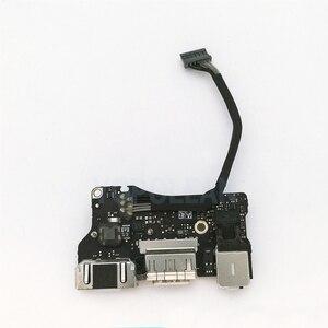 "Image 2 - كمبيوتر محمول أصلي I/O USB لوحة طاقة صوت 820 3455 A تيار مستمر جاك 923 0439 لماك بوك اير 13 ""A1466 2013 2014 2015"