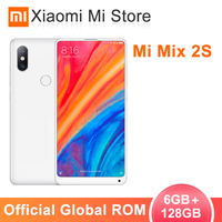 Global ROM Xiaomi Mi Mix 2S 6GB 128GB Smartphone Snapdragon 845 5.99 Full Screen 12MP Dual Cameras Face ID Wireless charging