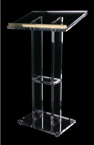 Clear-Podium-Lectern-Pulpit-Plexiglass-Lucite-Acrylic  Clear-Podium-Lectern-Pulpit-Plexig Lectern  Church Lectern Church Chrome