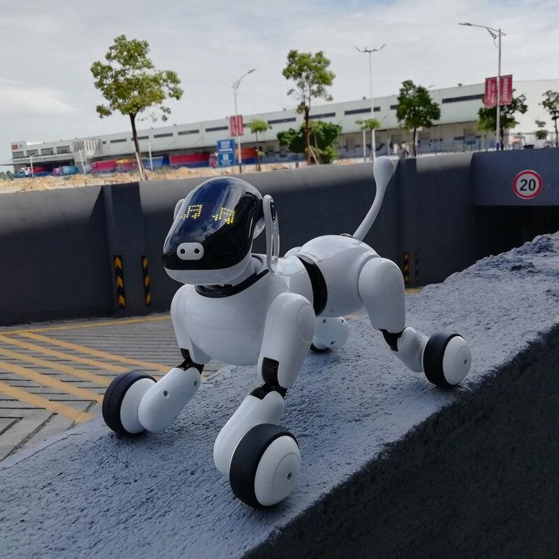eletronicos cao robo inteligente de controle remoto 05