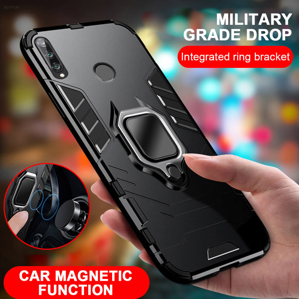 Magnetic Flip Phone Case for Huawei Honor <font><b>20</b></font> <font><b>Lite</b></font> 9X <font><b>20</b></font> 8A 10 Light Back Covers on <font><b>Hawei</b></font> P40 Pro P30 <font><b>Lite</b></font> <font><b>Mate</b></font> 30 P Smart Z Plus image