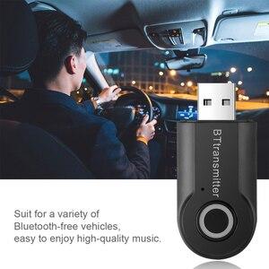 Image 3 - Bluetooth передатчик 3,5 мм разъем аудио адаптер Беспроводной Bluetooth 4,0 стерео аудио передатчик адаптер последняя для наушников ТВ
