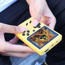 Tragbare Spielkonsole Retro 500 Spiele Handheld Mini Spielkonsole Klassische Tasche Video Gamepad mit Controller