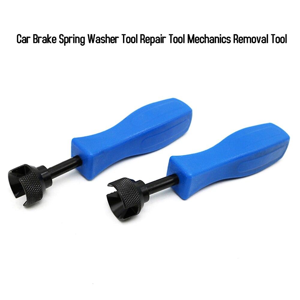 Car Drum Brake Spring Washer Shoe Tool Mechanics Retaining Brake Spring Removal Repair Tool For Automobile Repair Maintenance