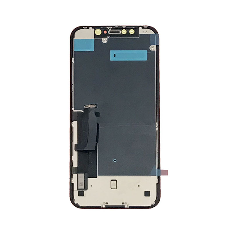 For iPhone XR LCD Screen OEM with Metal Touch Screen Digitizer Display TFT Tianma Dropshipping Touch Digi Assembly Replacement(China)