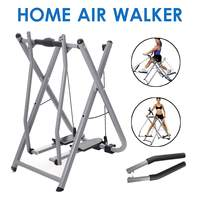 Foldable Pipe Air Walker Steppers Home Gym Elliptical Exercise Machine Handrail Slimming Workout Trainer Fitness Equipments