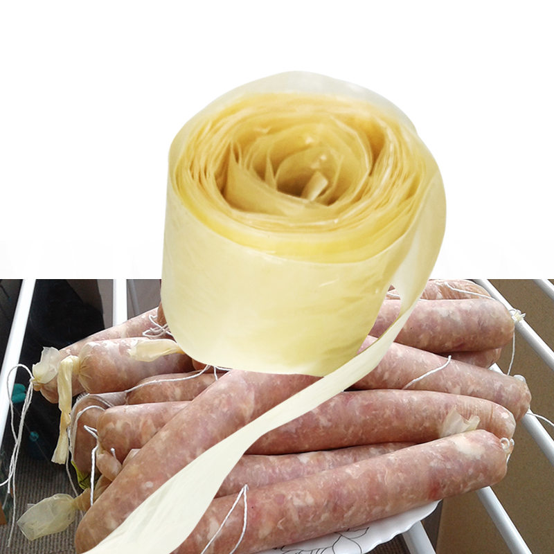 Sausage-Casing Tube Ham-Tools Collagen 3/5-Meters for Dry 21/25mm