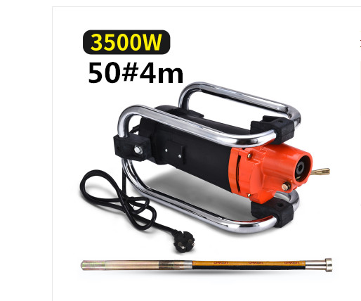 35mm Concrete Vibrator 1750W 2000W 1500W 220V With Copper Motor Construction Tools