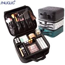 Makeup Case Storage-Box Cosmetics Organizer Nail-Tool Profession Beautician Women Brand