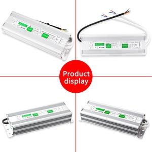Image 4 - Fuente de alimentación de 110V, 220V a 12V, 24 V, 20W, 30W, 50W, 80W, IP67, resistente al agua, CA, CC, 12V, 24 V, Controlador led de 12V y 24 V