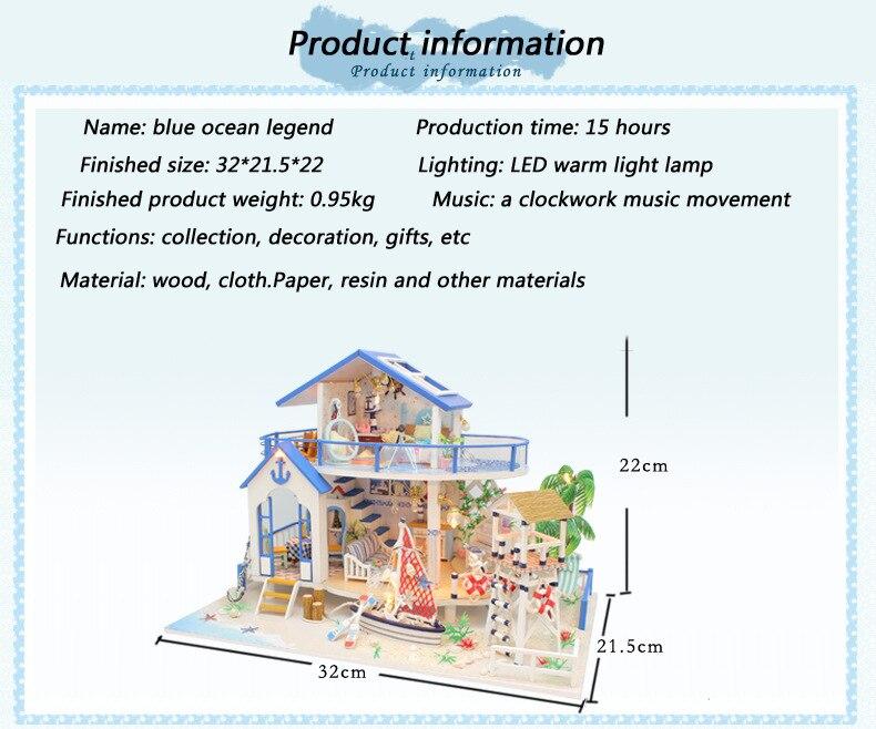 H2022e67469e946f2a5d1d0557bd5c4612 - Robotime - DIY Models, DIY Miniature Houses, 3d Wooden Puzzle