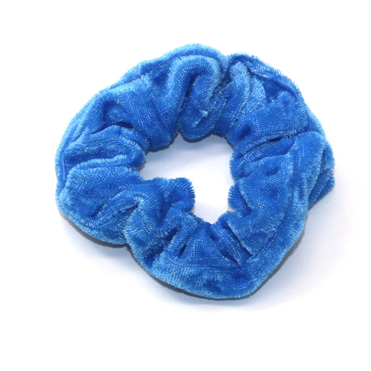 40/50Pcs/LOT Soft Velvet Scrunchie Pack Elastic Hair Bands Korea Scrunchies Hair Ties For Women Ponytail Holder Hair Accessories