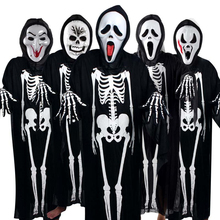 Halloween Costume Human Skeleton Cosplay Performance Kid Clothes Ropa Kids Outfits Children Boys Girls Sets Clothing