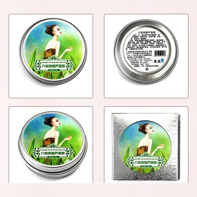 Six Times Concentrated Aloe Vera Gel Hydrating Repair Soothing Pox Oligopeptide Aloe Vera Gel Skin 2