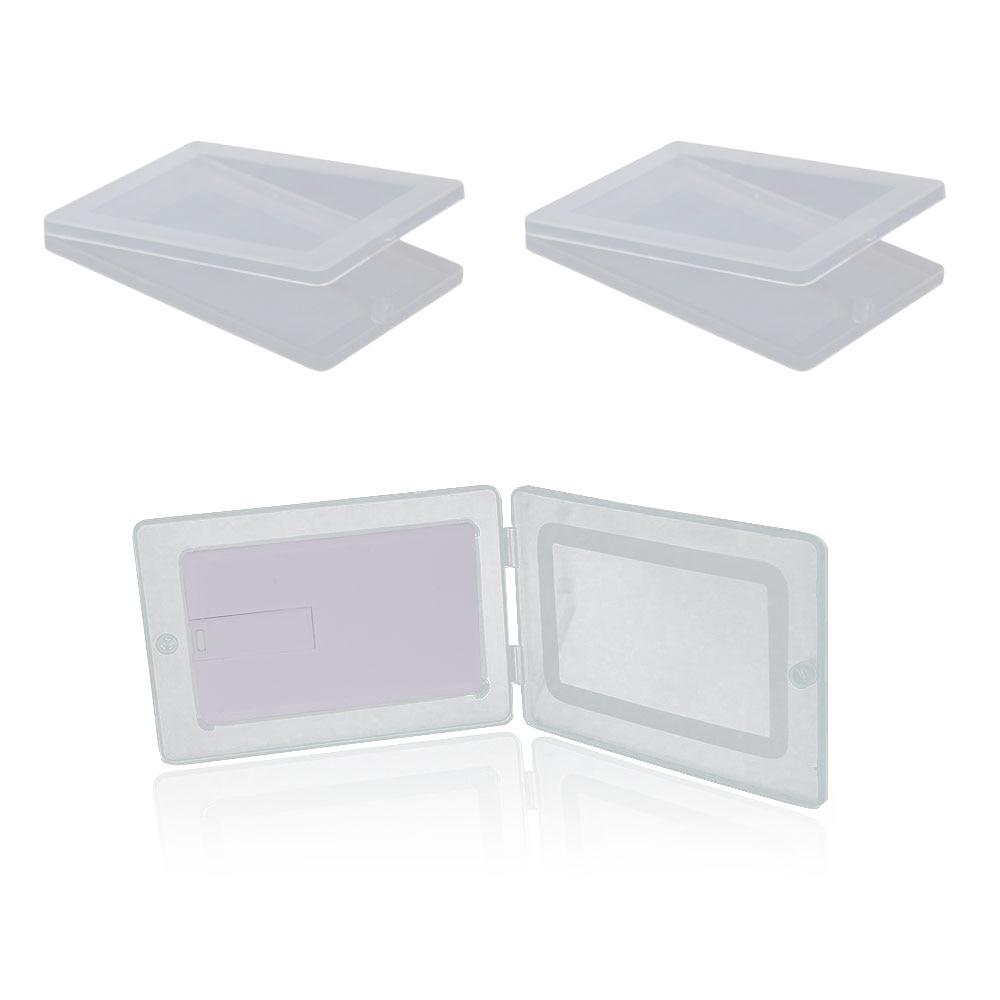 310pcs 4GB Bank Card USB Flash Drive with white plastic box 2.0 DHL Shipping