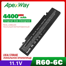 6 Cell Laptop Battery For Samsung AA-PB4NC6B R60 P560 Q210 R39 R40 R408 R41 R410 R45 R458 R460 R509 R510 R560 P50 P60 P210 P460