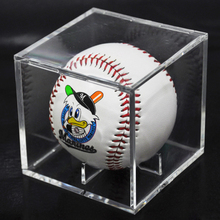 Acrylic 9 Inch Baseball Box Display Golf Tennis Ball Transparent for Souvenir Collection Storage Holder UV Protection Dust-proof 8cm acrylic baseball box related display cube tennis transparent case for ball souvenir storage boxes holder uv protection