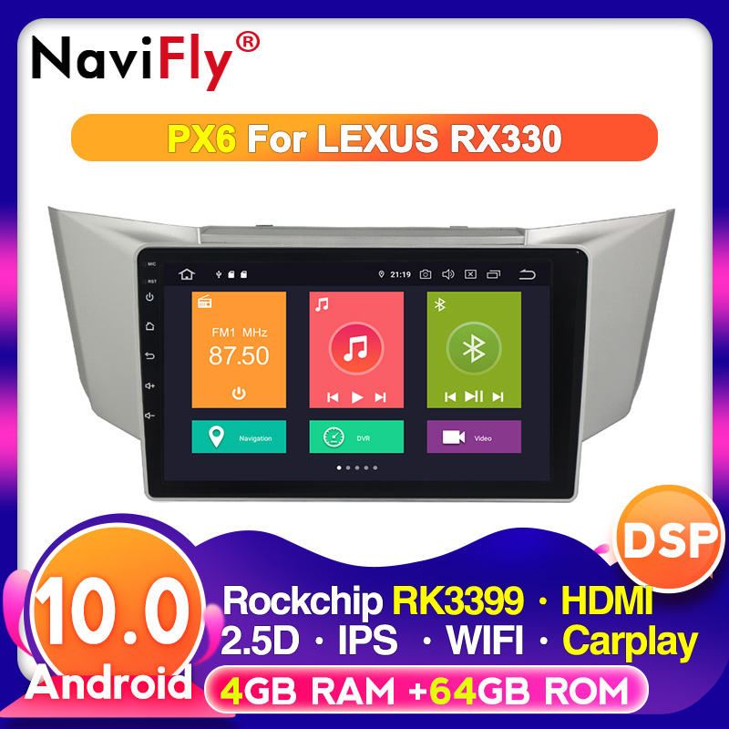 Android 10.0 Octa Core Car Multimedia DSP For Lexus RX300 RX330 RX350 RX400H Toyota harrier 2003 2004 2005 2006 2007 2008 2009|Car Multimedia Player|   - AliExpress