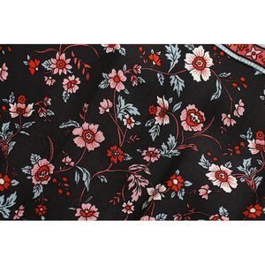 Image 5 - Robe maxi en coton, style Boho, Vintage chic imprimé floral oiseaux, manches courtes, style Boho, coton, décolleté plongeant en v, bouton